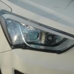 [EGR] Hyundai Santa Fe DM - Headlight Protector (CLEAR)