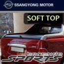 [SSANGYONG] SsangYong Korando Sports - Sewon Soft Top Trunk Cover
