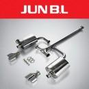 [JUN,B.L] KIA K5 TF T-GDi - Twin Rear Section Muffler (JBLK-20K5TR)