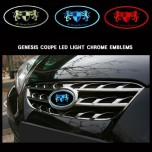 [ARTX] Hyundai Genesis Coupe - Chrome Luxury Generation LED Emblem Set