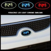 [ARTX] Hyundai Veracruz - Chrome Luxury Generation LED Emblem Set