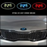 [ARTX] KIA K5 - Chrome Luxury Generation LED Emblem Set