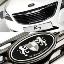 [ARTX] KIA K7 - Luxury Generation Tuning Emblem Full Set
