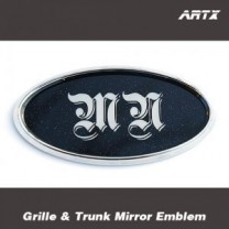 [ARTX] KIA All New Morning - Mirror Tuning Emblem Set