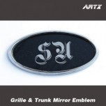 [ARTX] KIA All New Soul - Mirror Tuning Emblem Set