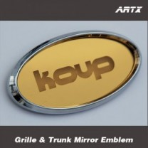 [ARTX] KIA K3 Koup - Mirror Tuning Emblem Set