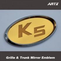 [ARTX] KIA K5 - Mirror Tuning Emblem Set