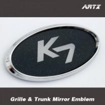 [ARTX] KIA New K7 - Mirror Tuning Emblem Set