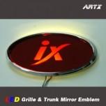 [ARTX] Hyundai Tucson ix - LED Mirror Tuning Emblem Set