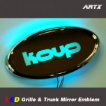 [ARTX] KIA K3 Koup - LED Mirror Tuning Emblem Set