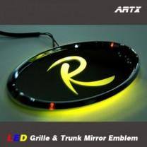 [ARTX] KIA Sportage R - LED Mirror Tuning Emblem Set