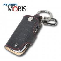 [MOBIS] KIA K3 / K3 Koup - Smart Key Leather Key Holder (BLACK) - TF300R