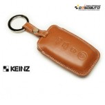 [KEINZ] KIA - Smart Key Leather Pouch Clam Key Holder (4 Buttons)