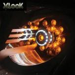 [XLOOK] SsangYong Korando C - LED TRIPPLE Front Turn Signal Modules Set