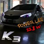 [EXLED] KIA K3 - 1533L2 Power LED Eyeline Upgrade Module DIY Kit (2Way)