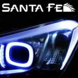 [EXLED] Hyundai Santa Fe DM - 2Way 1533L2 Power LED Eyeline Upgrade Module DIY Kit