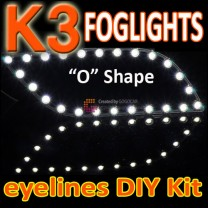 [GOGOCAR] KIA K3 - LED Foglights D-Block Eyeline DIY Kit (O-shape)