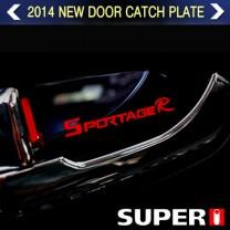 [BRICX] SsangYong Actyon - 7 Color LED Inside Door Catch Plates Set