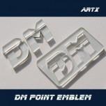 [ARTX] Hyundai Santa fe DM - Lettering Point Emblem DM - No.55