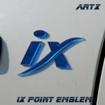 [ARTX] Hyundai ix35/ ix45 / ix55 - Lettering Point Emblem ix - No.6