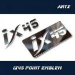[ARTX] Hyundai Santa Fe DM - Lettering Point Emblem ix45 - No.10