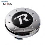 [MOBIS] HYUNDAI - Genuine R-Logo Wheel Cap Emblem Set