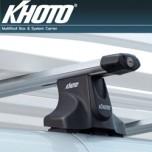 [KHOTO] Hyundai Grand Starex  - Roof-on System (Aero bar type) KH264G (Aluminum Bar 1 Set)