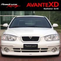 [ROADRUNS] Hyundai Avante XD - Front Radiator Grille + Garnish