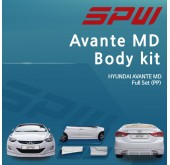 [SPW] Hyundai Avante MD - Full Body Kit Aeroparts Set