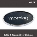 [ARTX] KIA All New Morning 2017 - Mirror Tuning Emblem Set No.83